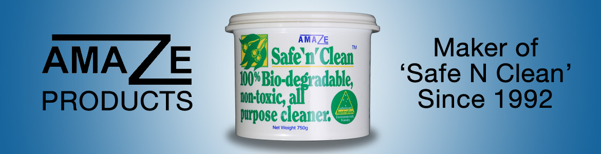 Amaze Safe and Clean | Bio Degradable Cleaning Past | Australian Made