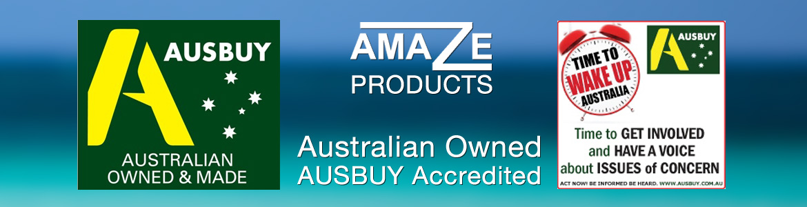Amaze Products | Ausbuy | Australian Owned | Australian Made